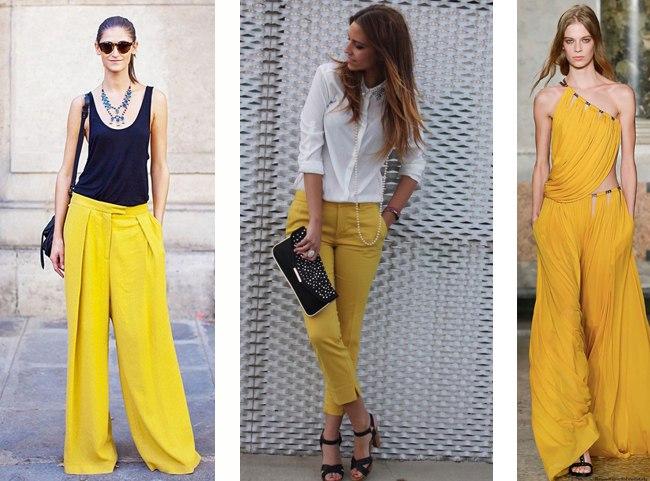 como-usar-calca-amarela