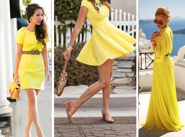 como-usar-vestido-amarelo