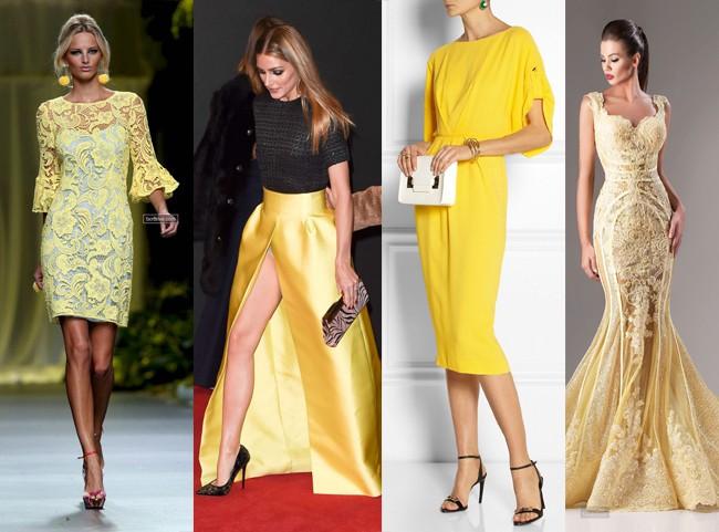 como-usar-vestido-de-festa-amarelo
