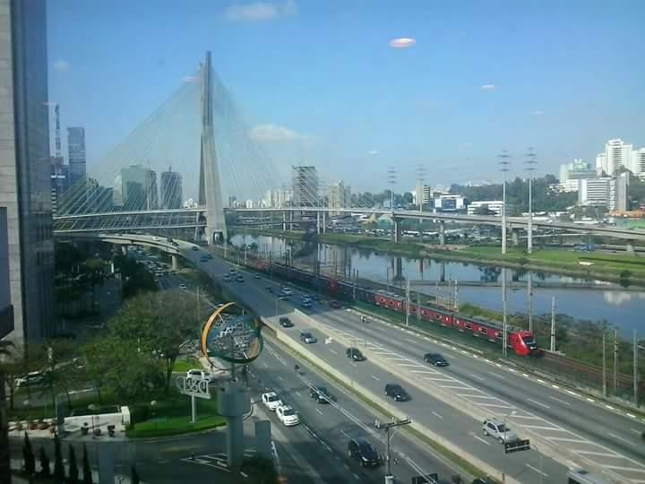 Marginal Pinheiros e Ponte Estaiada